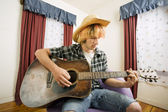 Young Guitar Player — Stock Photo