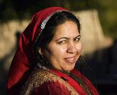 Muslim Woman Outdoors — Stock Photo