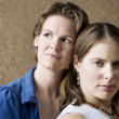 Stock Photo: Two Women