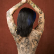 Woman with tattoos — Stock Photo #39616129