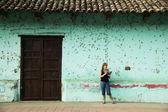 American Tourist in Granada Nicaragua — Stock Photo