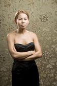 Kobieta bardzo etniczne — Zdjęcie stockowe