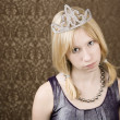 Pretty young girl with tiara — Stock Photo #39620785