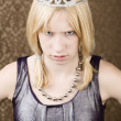 Pretty young girl with tiara — Stock Photo #39620821