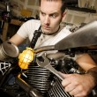 Stockfoto: Overwhelmed Mechanic
