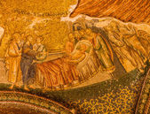 Mosaic in Chora Church — Stock Photo