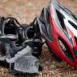 Stock Photo: Bicycling Gear