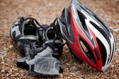 Bicycling Gear — Stock Photo