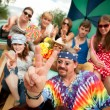 Groovy Group in the Back of Truck — Stock Photo #39762263