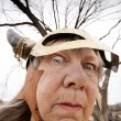 Crazy Viking Lady — Stock Photo #39763425