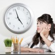 Bored woman at the end of the day — Stock Photo #39769091