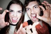 Crazy Couple — Stock Photo