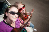 Female Musicians — Stock Photo