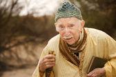 Guru in the desert — Stok fotoğraf