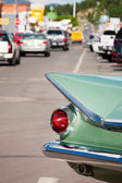Tail fin on Route 66 — Stock Photo