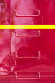 Metal ladder on Side of Train Caboose — Stock Photo