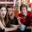 Stock Photo: Coffee House Friends