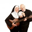 Постер, плакат: Musical Priest and Nun