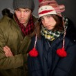 Stock Photo: Bundled Up Couple