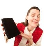 Female preacher — Stock Photo