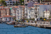 VIew of Istanbul from Bosphorus Strait — Foto Stock