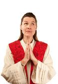 Kadın vaiz — Stok fotoğraf