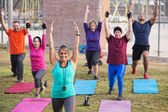 Active Adults Exercising — Stock Photo