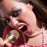 Punk Rock Girl — Stock Photo #40177163