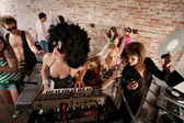 1970s Disco Music Party — Stock Photo