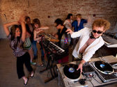 1970s Disco Music Party — Stock Photo