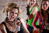 Punk Rock Band — Stock Photo