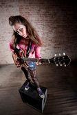 Punk Rock Girl — Stock Photo