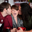Complicated love triangle — Stock Photo #40315203