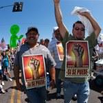 Arizona Immigration SB1070 Protest Rally — Stock Photo #40315737