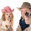 Point blank range — Stockfoto