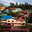 Stock Photo: Buildings on hillside in SantElena