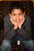 Hiszpanin chłopiec — Zdjęcie stockowe