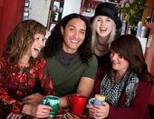 Czterech przyjaciół — Zdjęcie stockowe