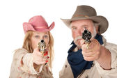 Point blank range — Stock Photo