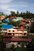 Buildings on a hillside in Santa Elena — Stock Photo