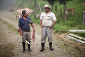 Handsome male ranch hands in Costa Rica — Foto Stock