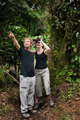 Central American Tourists — Stock Photo