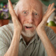 Concerned elder — Stock Photo