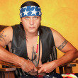 Foto de Stock  : Native Americman