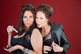 Two Jersey style housewives — Foto de Stock