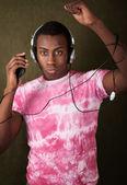 Junger afro-amerikaner — Stockfoto