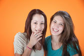 Laughing Friends — Stock Photo