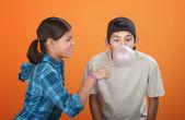 Bubble Gum Pop — Stock Photo
