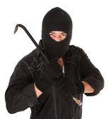 Masked Criminal — Stock Photo