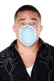 Surgical Mask Safety — Stock Photo